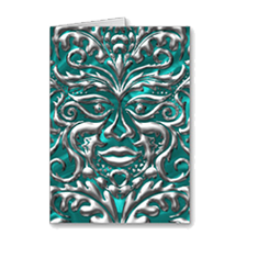 3dGreenman-cards