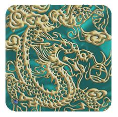 DragonSatinLush-Turquoise