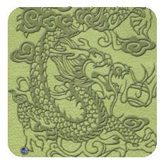 EmbossedDragon-limegreen