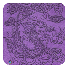 EmbossedDragon-purple