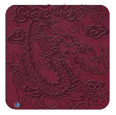 EmbossedDragon-redwine