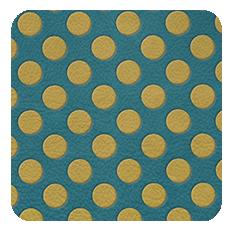 PolkaDots-yellow-turquoise