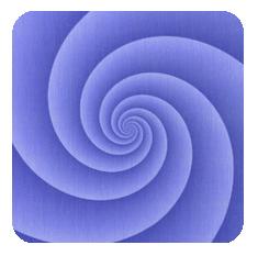 Spiral-blue