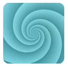 Spiral-turquoise